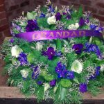 Funeral flowers for grandad
