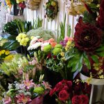 a selection of Elaine's flowers in her store