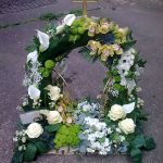 wreath with a cross