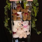 Teddy bears on display
