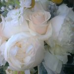 an assortment of white flowers